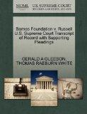 Barnes Foundation v. Russell U.S. Supreme Court Transcript of Record with Supporting Pleadings