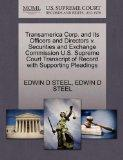 Transamerica Corp. and Its Officers and Directors v. Securities and Exchange Commission U.S....