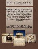 R. R. Stone, Trading as Stone Towing Line, Charterer, Pro Hac Vice of Gas Screw Tug Stone 6,...