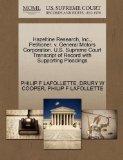 Hazeltine Research, Inc., Petitioner, v. General Motors Corporation. U.S. Supreme Court Tran...
