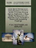 Zeola Martin Rimbow et al., Doing Business in the Firm Name of Huckaby Funeral Service, Peti...