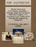 Illinois Commerce Commission, Appellant, v. Chicago, Burlington & Quincy Railroad Company. U...