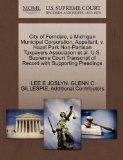 City of Ferndale, a Michigan Municipal Corporation, Appellant, v. Hazel Park Non-Partisan Ta...