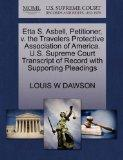 Etta S. Asbell, Petitioner, v. the Travelers Protective Association of America. U.S. Supreme...