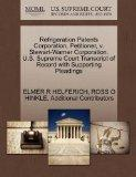 Refrigeration Patents Corporation, Petitioner, v. Stewart-Warner Corporation. U.S. Supreme C...