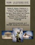 Walter E. Meyer, Petitioner, v. Joseph B. Fleming and Aaron Colnon, as Trustees of the Chica...