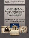 Jennie E. Dargel et al., Petitioners, v. William G. Barr, Director of Rent Stabilization, et...
