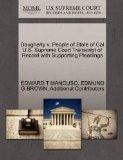 Daugherty v. People of State of Cal U.S. Supreme Court Transcript of Record with Supporting ...