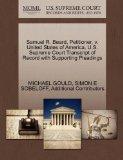 Samuel R. Beard, Petitioner, v. United States of America. U.S. Supreme Court Transcript of R...