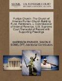 Puritan Church--The Church of America Puritan Church Building Fund, Petitioners, v. Commissi...