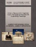 Enke v. Baucus U.S. Supreme Court Transcript of Record with Supporting Pleadings