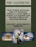 Harold Thomas Hermansen, Alias Ford Hermansen, Petitioner, v. United States of America. U.S....