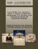 Emray Realty Corp., Appellant, v. Robert C. Weaver, as State Rent Administrator. U.S. Suprem...
