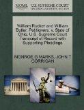 William Rucker and William Butler, Petitioners, v. State of Ohio. U.S. Supreme Court Transcr...