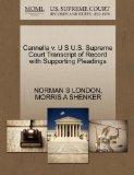 Cannella v. U S U.S. Supreme Court Transcript of Record with Supporting Pleadings