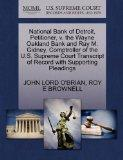 National Bank of Detroit, Petitioner, v. the Wayne Oakland Bank and Ray M. Gidney, Comptroll...