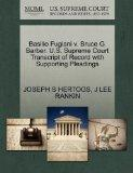 Basilio Fugiani v. Bruce G. Barber. U.S. Supreme Court Transcript of Record with Supporting ...