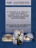 R. E. Peckham et al., Petitioners, v. Family Loan Company, a Corporation, et al. U.S. Suprem...