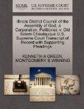 Illinois District Council of the Assembly of God, a Corporation, Petitioner, v. Old Salem Ch...