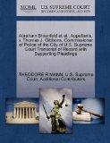 Abraham Braunfeld et al., Appellants, v. Thomas J. Gibbons, Commissioner of Police of the Ci...