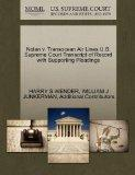Nolan v. Transocean Air Lines U.S. Supreme Court Transcript of Record with Supporting Pleadings