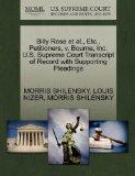 Billy Rose et al., Etc., Petitioners, v. Bourne, Inc. U.S. Supreme Court Transcript of Recor...