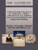 Loffland Brothers Company et al., Petitioners, v. Willie J. Teichman et al. U.S. Supreme Cou...