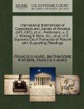 International Brotherhood of Carpenters and Joiners of America (AFL-CIO), et al., Petitioner...