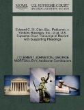 Edward C. St. Clair, Etc., Petitioner, v. Yonkers Raceway, Inc., et al. U.S. Supreme Court T...