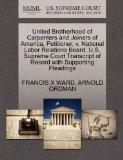 United Brotherhood of Carpenters and Joiners of America, Petitioner, v. National Labor Relat...