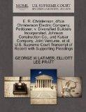 E. R. Christenson, d/b/a Christenson Electric Company, Petitioner, v. Diversified Builders I...
