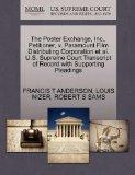 The Poster Exchange, Inc., Petitioner, v. Paramount Film Distributing Corporation et al. U.S...