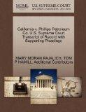 California v. Phillips Petroleum Co. U.S. Supreme Court Transcript of Record with Supporting...