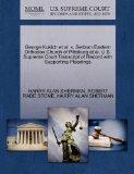 George Kukich et al. v. Serbian Eastern Orthodox Church of Pittsburg et al. U.S. Supreme Cou...