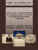 Arthree, Inc. v. Kaskel (Howard) U.S. Supreme Court Transcript of Record with Supporting Ple...