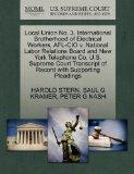 Local Union No. 3, International Brotherhood of Electrical Workers, AFL-CIO v. National Labo...