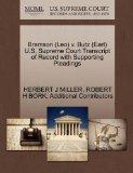 Bramson (Leo) v. Butz (Earl) U.S. Supreme Court Transcript of Record with Supporting Pleadings