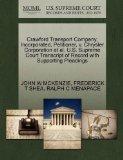 Crawford Transport Company, Incorporated, Petitioner, v. Chrysler Corporation et al. U.S. Su...