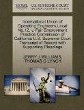 International Union of Operating Engineers,Local No.12, v. Fair Employment Practice Commissi...