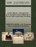 United States v. Bisceglia (R.) U.S. Supreme Court Transcript of Record with Supporting Plea...