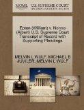 Epton (William) v. Nenna (Albert) U.S. Supreme Court Transcript of Record with Supporting Pl...