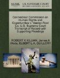 Connecticut Commission on Human Rights and Opportunities v. Veeder-Root Co. U.S. Supreme Cou...