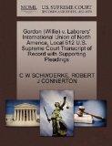 Gordon (Willie) v. Laborers' International Union of North America, Local 612 U.S. Supreme Co...