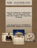 Jackson (Catherine) v. Metropolitan Edison Co. U.S. Supreme Court Transcript of Record with ...