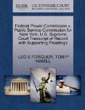 Federal Power Commission v. Public Service Commission for New York. U.S. Supreme Court Trans...