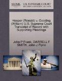 Hooper (Ronald) v. Gooding (William) U.S. Supreme Court Transcript of Record with Supporting...