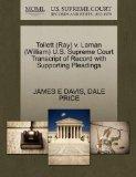 Tollett (Ray) v. Laman (William) U.S. Supreme Court Transcript of Record with Supporting Ple...