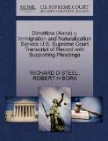 Dimattina (Anna) v. Immigration and Naturalization Service U.S. Supreme Court Transcript of ...