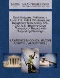 Scott Hudgens, Petitioner, v. Local 315, Retail, Wholesale and Department Store Union, AFL-C...