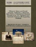 William A. Waters and Donald Samuels, Petitioners v. Wisconsin Steel Works of International ...